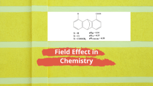 Field Effect in Chemistry