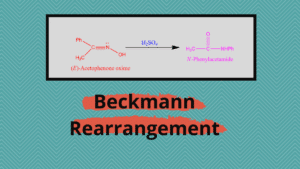 Beckmann Rearrangement - Examples, Detailed mechanism
